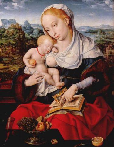 Maria ammer10 -   van Cleve 1525