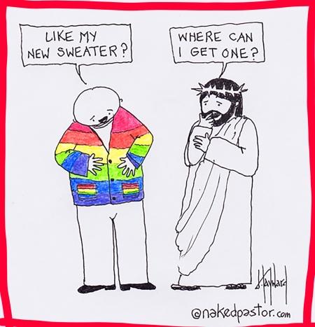absolutt-rainbow genser